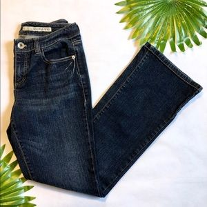 DKNY Soho Jeans sz 6 Boot Cut Blue Wash